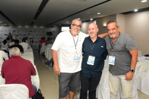 Ángel Muñiz, Rubén Abud y Alfonso Rodríguez