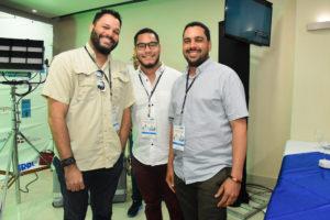 Joel Rodríguez, Erick Rivera y Omar Ventura